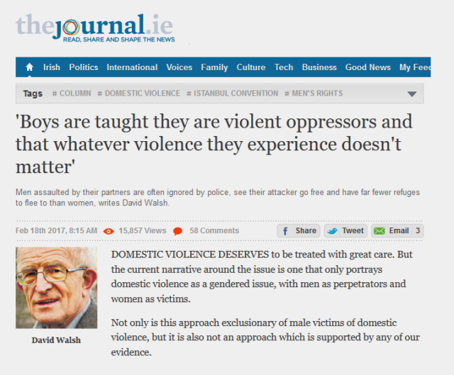 The Journal: Article on Domestic Violence